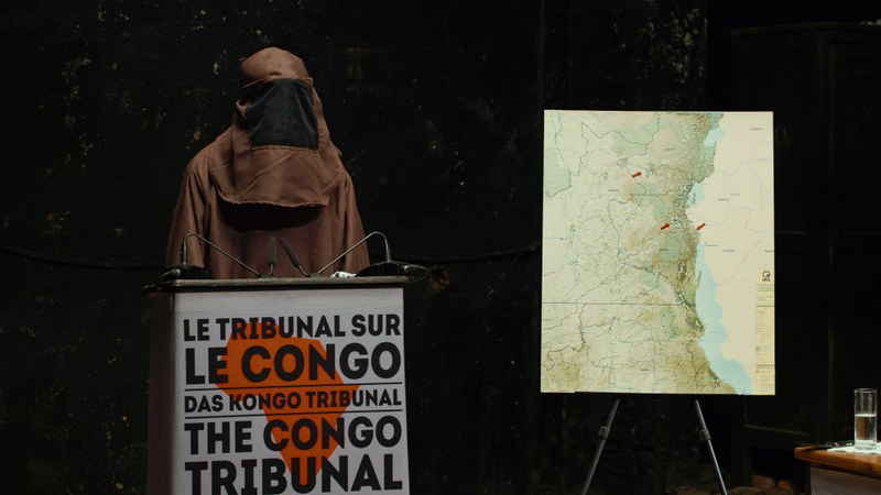 Anonymer Zeuge (ehemaliger Rebel) im Kongo Tribunal © Vinca Film 2