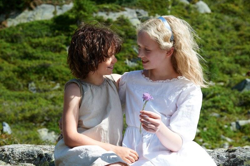 Heidi   Szenen   11 Heidi (Steffen), Klara (Ottmann)