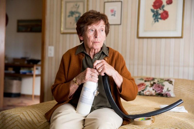 Pressefoto Die letzte Pointe   Monica Gubser,Foto von Sava Hlavacek © Vinca Film 2