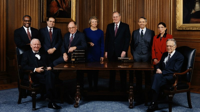 RBG   Szenen   ov   06 Supreme Court Justices, 1993 (Supreme Court)