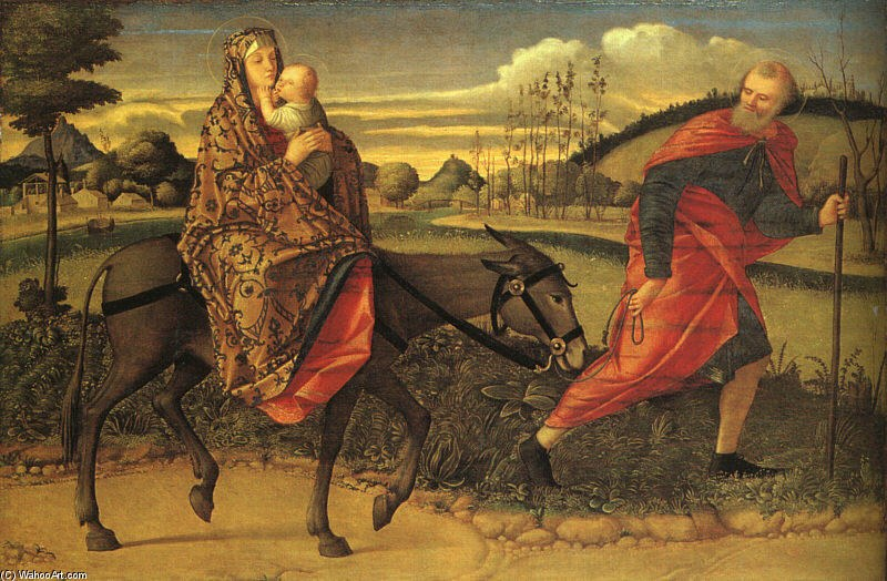 Vittore Carpaccio The Flight into Egypt